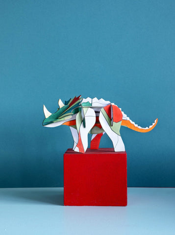 Studio Roof Mythical Creature, DIY Triceratops - The Stationery Cupboard