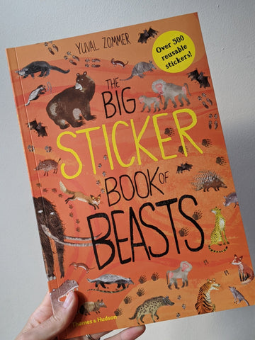 The Big Sticker Book of Beasts - The Stationery Cupboard