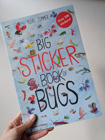 The Big Sticker Book of Bugs - The Stationery Cupboard