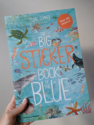 The Big Sticker Book of the Blue - The Stationery Cupboard