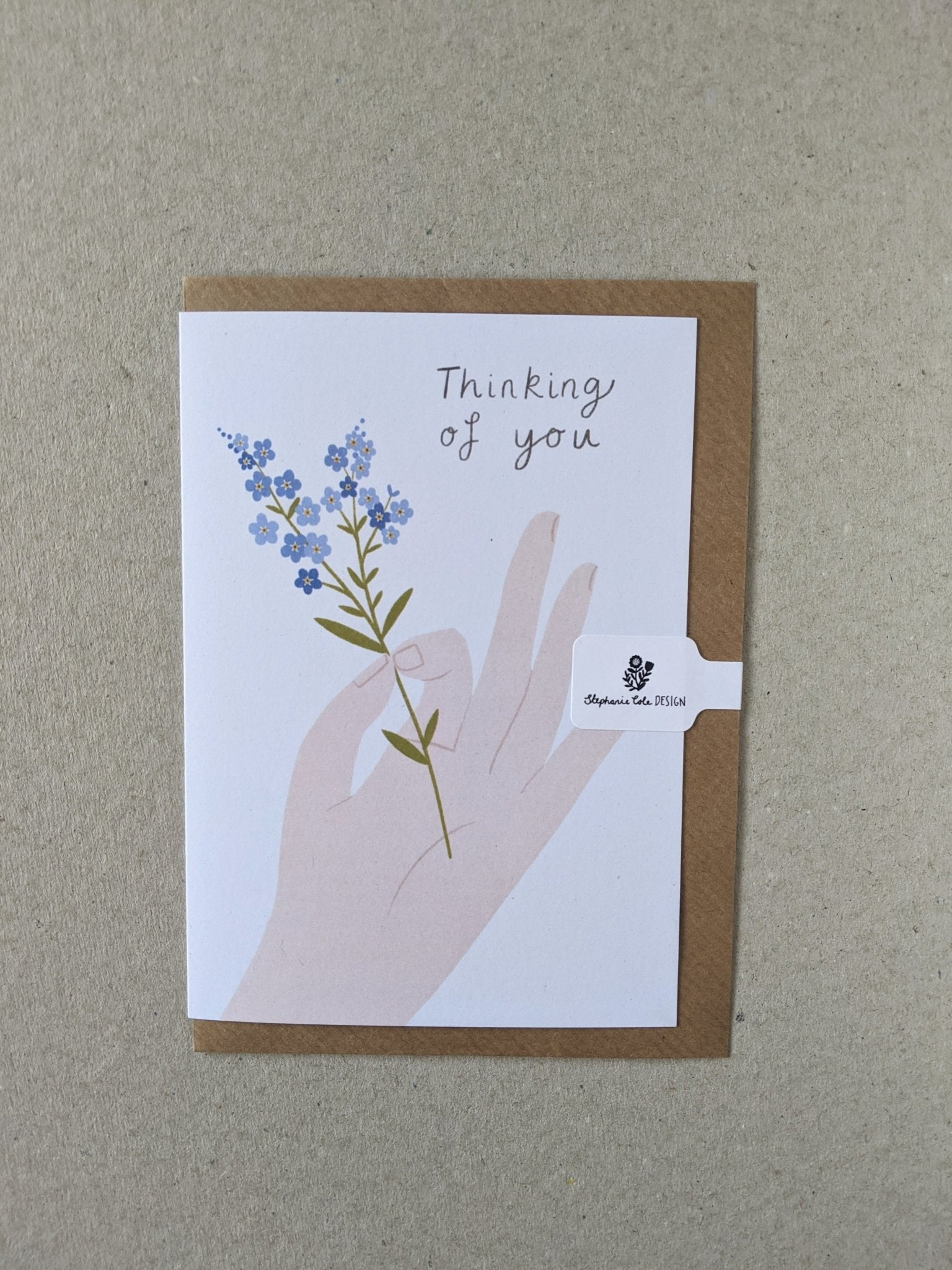 Thinking of you card - The Stationery Cupboard