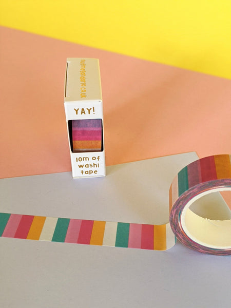 Washi tape - candy stripes - The Stationery Cupboard