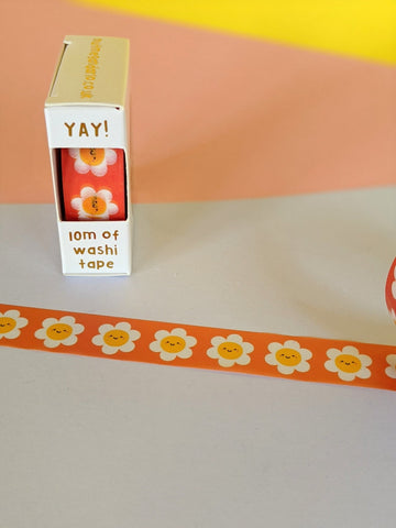 Washi tape - darling daisies - The Stationery Cupboard