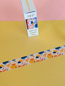 Washi tape - retro abstract - The Stationery Cupboard