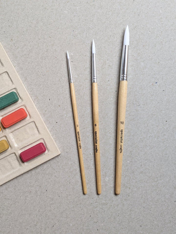 Watercolour paintbrushes - The Stationery Cupboard