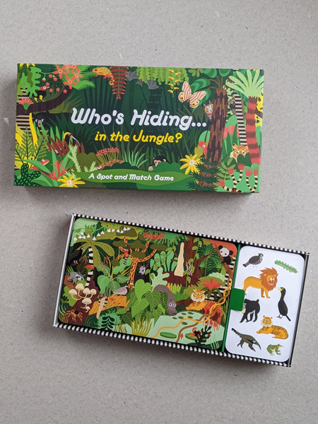 Who's Hiding In The Jungle - The Stationery Cupboard