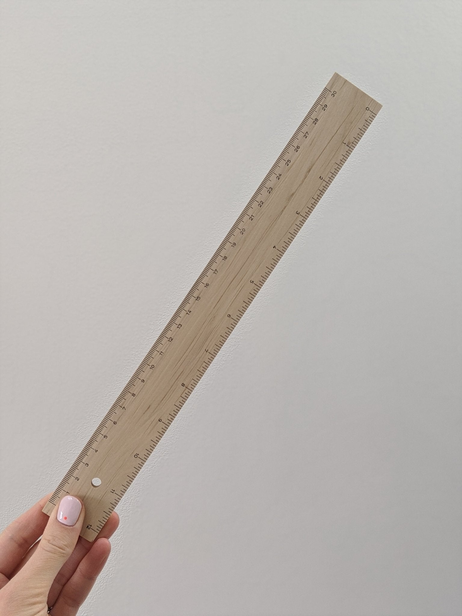 Wooden ruler - The Stationery Cupboard