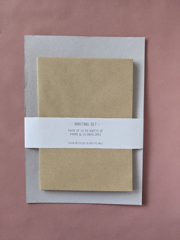 Writing paper & envelope set - The Stationery Cupboard