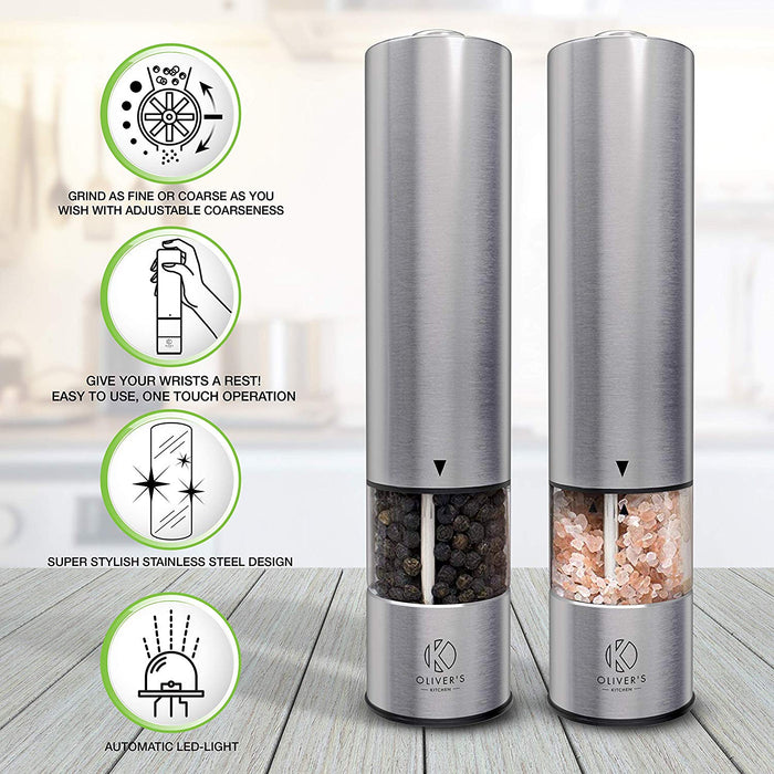 Electric Salt & Pepper Grinders