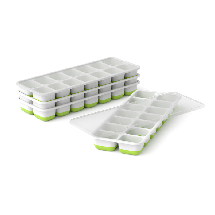 4X Ice Cube Tray Set