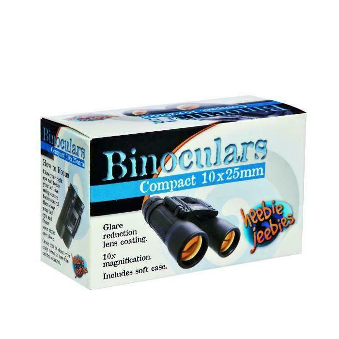 Binoculars Compact 10x25mm - Mystery Planet