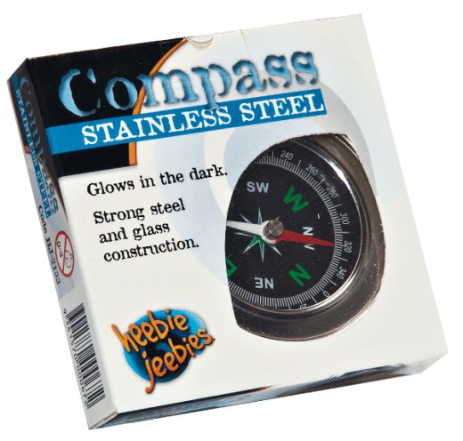 Compass Stainless Steel - Mystery Planet