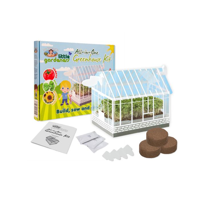 Mr Fothergill's Vegetable Garden Starter Kit, Greenhouse Kit, Garden Outdoor - Mystery Planet