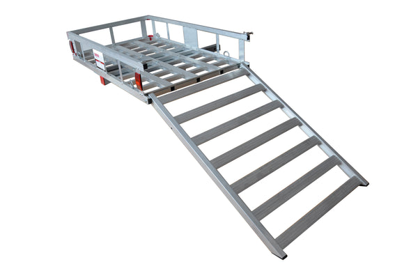 Aluminum Cargo Carrier with Ramp (ACR-500)Free Shipping