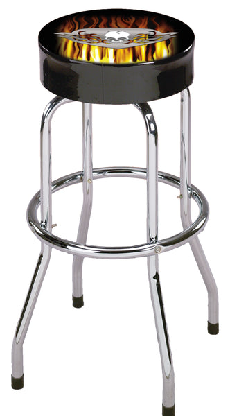 SKULL SHOP STOOL (STSKL-1)Free Shipping