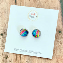 Load image into Gallery viewer, Earrings- COLOR SPILL