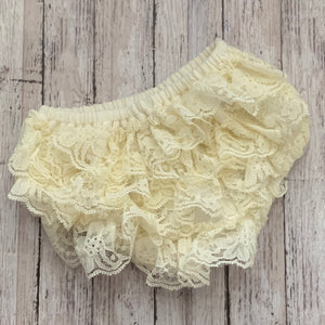 Lace Bloomers- IVORY