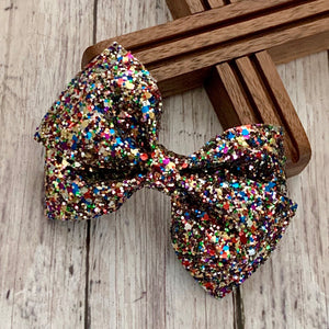 Glitter Bow- SHOWTIME