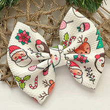 Load image into Gallery viewer, Fabric Bow- HOLIDAY PALS