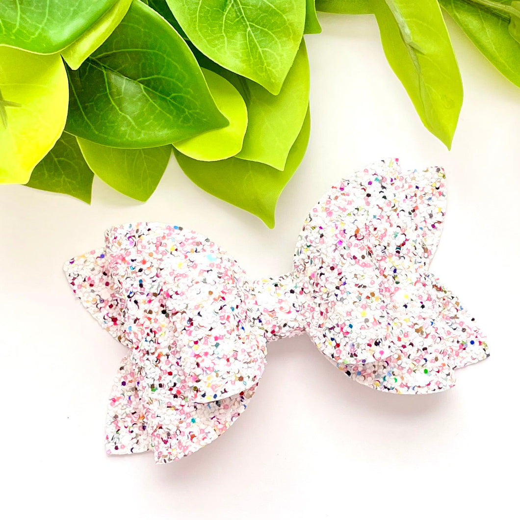 Glitter Bow- LOVE AT FIRST SIGHT