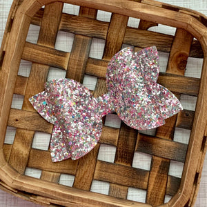 Glitter Bow- UNICORN TEARS