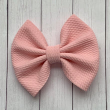 Load image into Gallery viewer, Fabric Bow- PETUNIA PINK