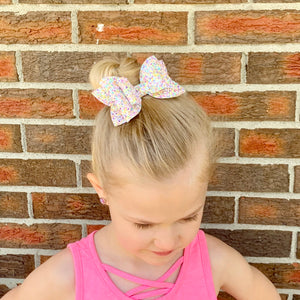 Glitter Bow- TOO COOL FOR SCHOOL
