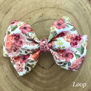 Leather Print- WILDWOOD BLOOMS