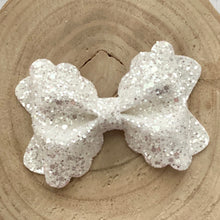 Load image into Gallery viewer, Glitter Bow- CRYSTAL