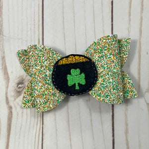 Feltie- SHAMROCK POT O' GOLD