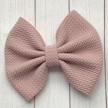 Load image into Gallery viewer, Fabric Bow- DUSTY MAUVE