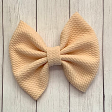 Load image into Gallery viewer, Fabric Bow- CREAM