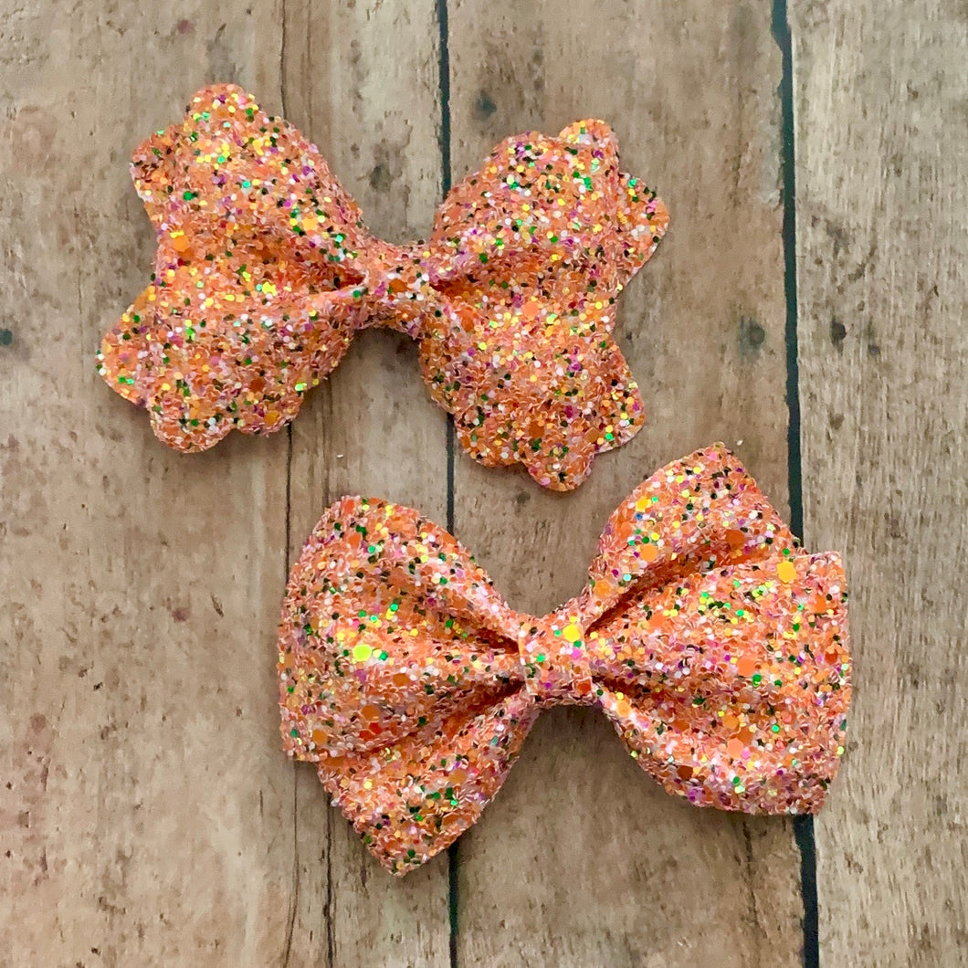 Glitter Bow- PUMPKIN PATCH