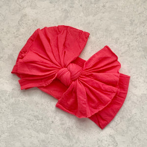 Headwrap- BIG MESSY BOW