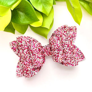 Glitter Bow- CRUSHING ON YOU