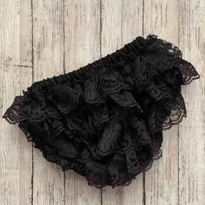 Lace Bloomers- BLACK