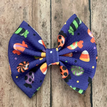 Load image into Gallery viewer, Fabric Bow- HALLOWEEN CANDY