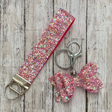 Load image into Gallery viewer, Keychain- PINK KALEIDOSCOPE