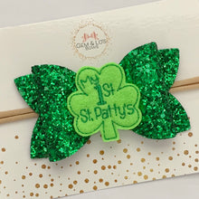 Load image into Gallery viewer, Feltie- MY FIRST ST. PATTY'S DAY SHAMROCK