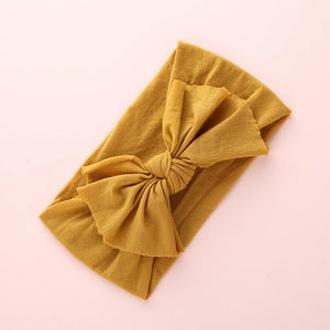 Headwrap- MESSY BOW