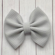 Load image into Gallery viewer, Fabric Bow- SILVER