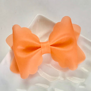 Jelly Bow- ORANGE