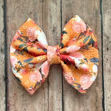 Load image into Gallery viewer, Fabric Bow- AWE OF AUTUMN