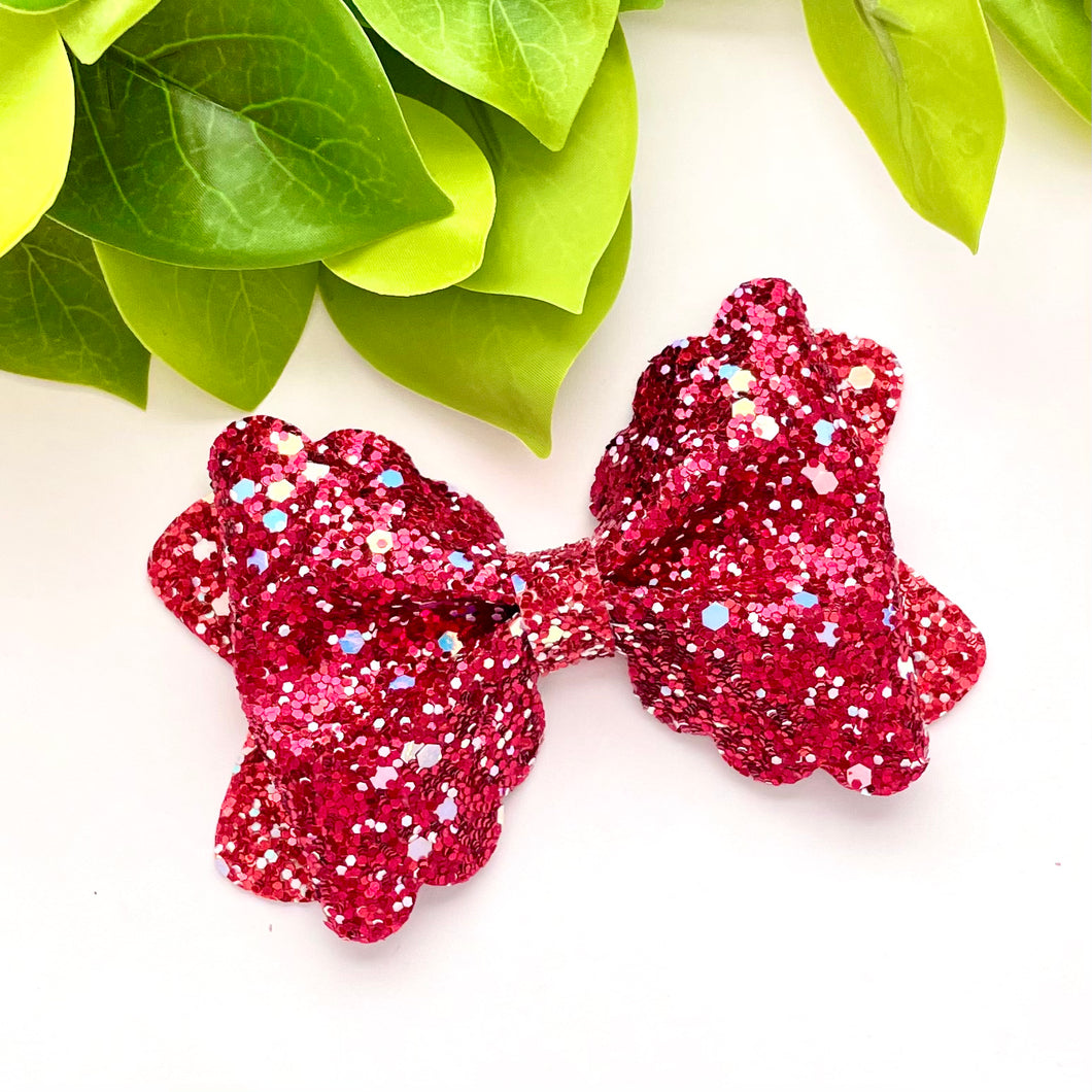 Glitter Bow- CUPID'S BOW