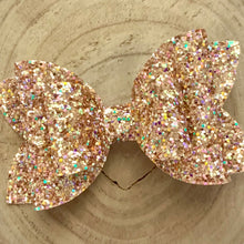 Load image into Gallery viewer, Glitter Bow- GUILTY PLEASURE