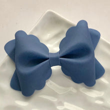Load image into Gallery viewer, Jelly Bow- NAVY