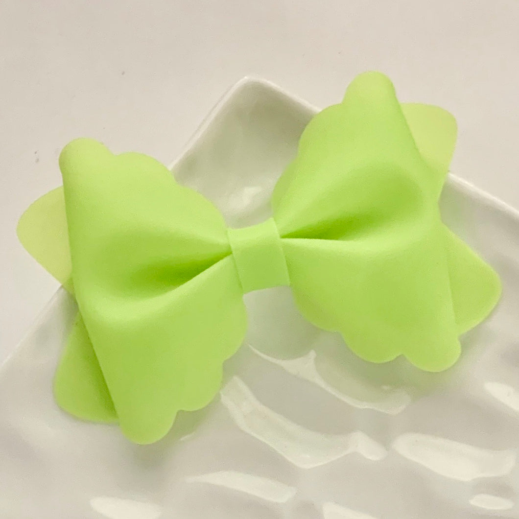 Jelly Bow- LIME