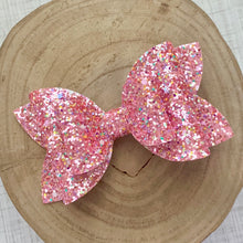 Load image into Gallery viewer, Glitter Bow- WILD HEART
