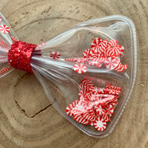 Shaker Bow- PEPPERMINT CANDIES