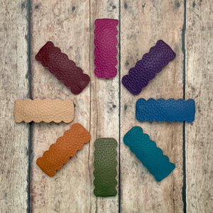 Snap Clips- FALL LEATHERS